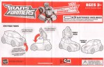 Animated - Bumper Battlers Sting Racer Bumblebee - Instructions