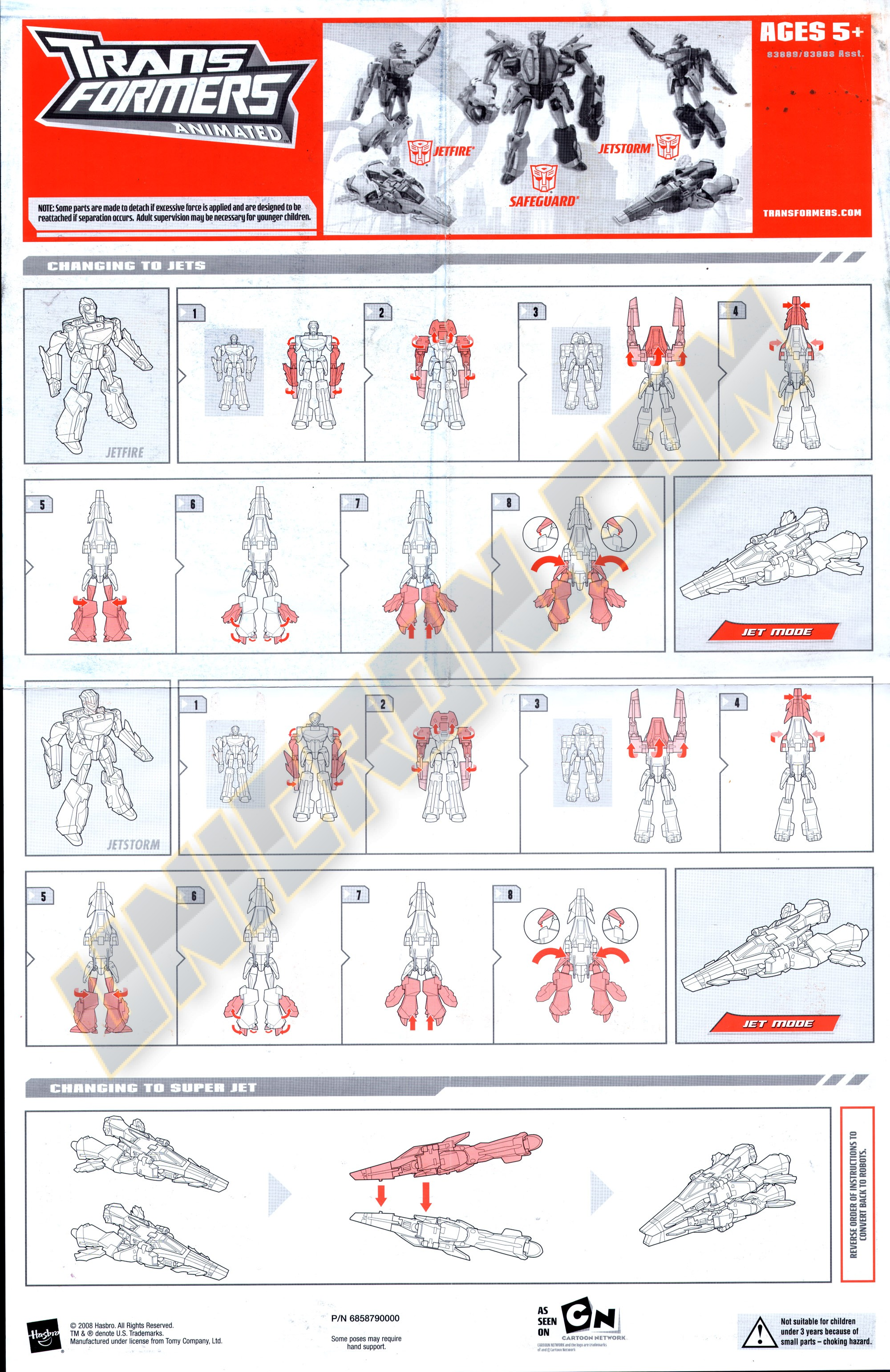 Transformers Animated Jetfire And Jetstorm Comic Transformers Animated Jetfire