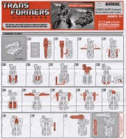 Universe - Autobot Countdown - Instructions