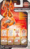 Universe - Legends Autobot Wheelie - Package art