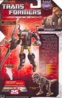 Universe - Dinobot - Package art