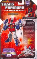 Universe - Starscream - Package art