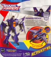 Animated - Activators Thundercracker - Package art