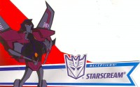 Animated - Activators Starscream - Package art