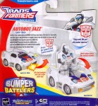 Animated - Bumper Battlers Autobot Jazz - Package art
