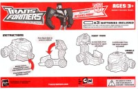 Animated - Bumper Battlers Nightwatch Optimus Prime - Instructions