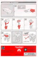 Movie - Bumblebee - Rally Rocket - Instructions