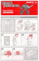 Movie - Ironhide - Pulse Cannon - Instructions