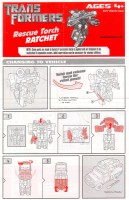 Movie - FAB Axe Attack Autobot Ratchet - Instructions