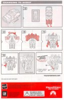 Movie - Autobot Ratchet - Axe Attack - Instructions
