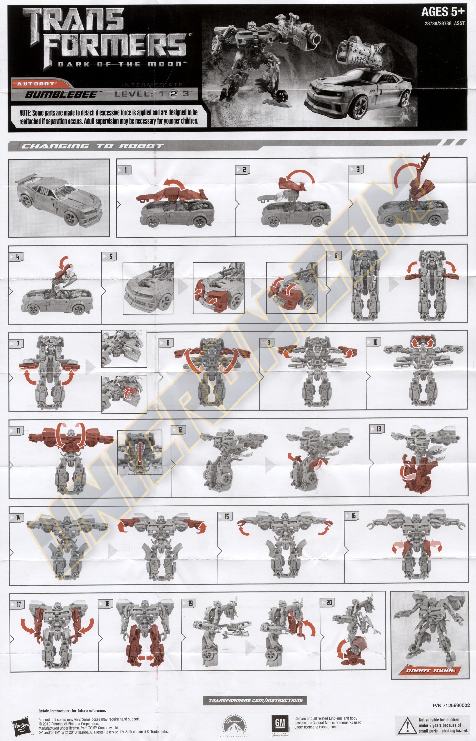 Deluxe class bumblebee (transformers, movie dark of the moon.