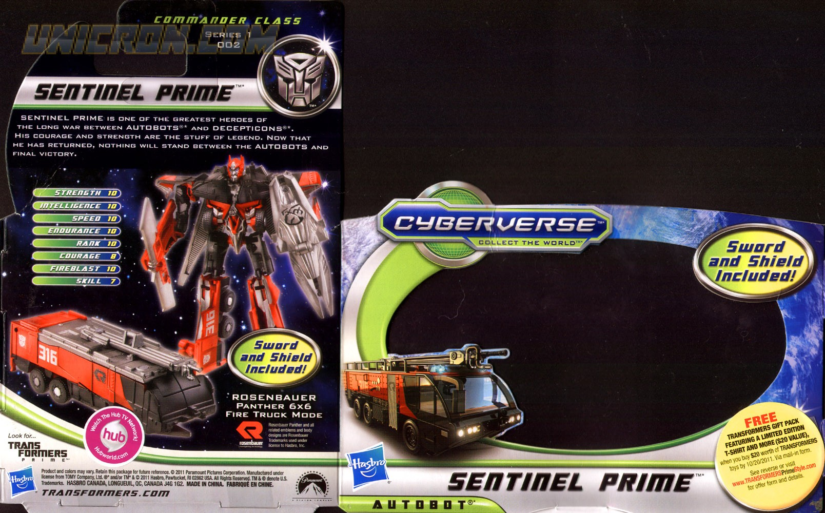 View All Sentinel Prime Toys