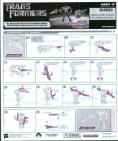 Movie - Protoform Starscream - Instructions