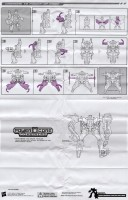 Power Core Combiners - Windburn with Darkray - Instructions