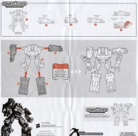 Power Core Combiners - Double Clutch with Rallybots - Instructions