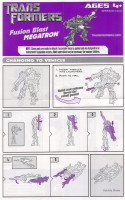 Movie - FAB Fusion Blast Megatron - Instructions