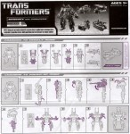 Power Core Combiners - Bombshock with Combaticons - Instructions
