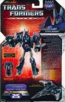 Universe - Cyclonus (with Nightstick) - Package art