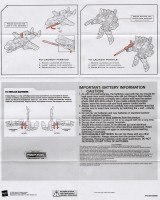 Universe - Powerglide (Red w/ gray) - Instructions