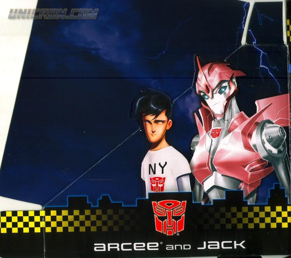 Transformers Prime Bumblebee, Arcee, Jack & Raf (NYCC