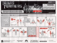 Movie - Air Raid (Target exclusive) - Instructions