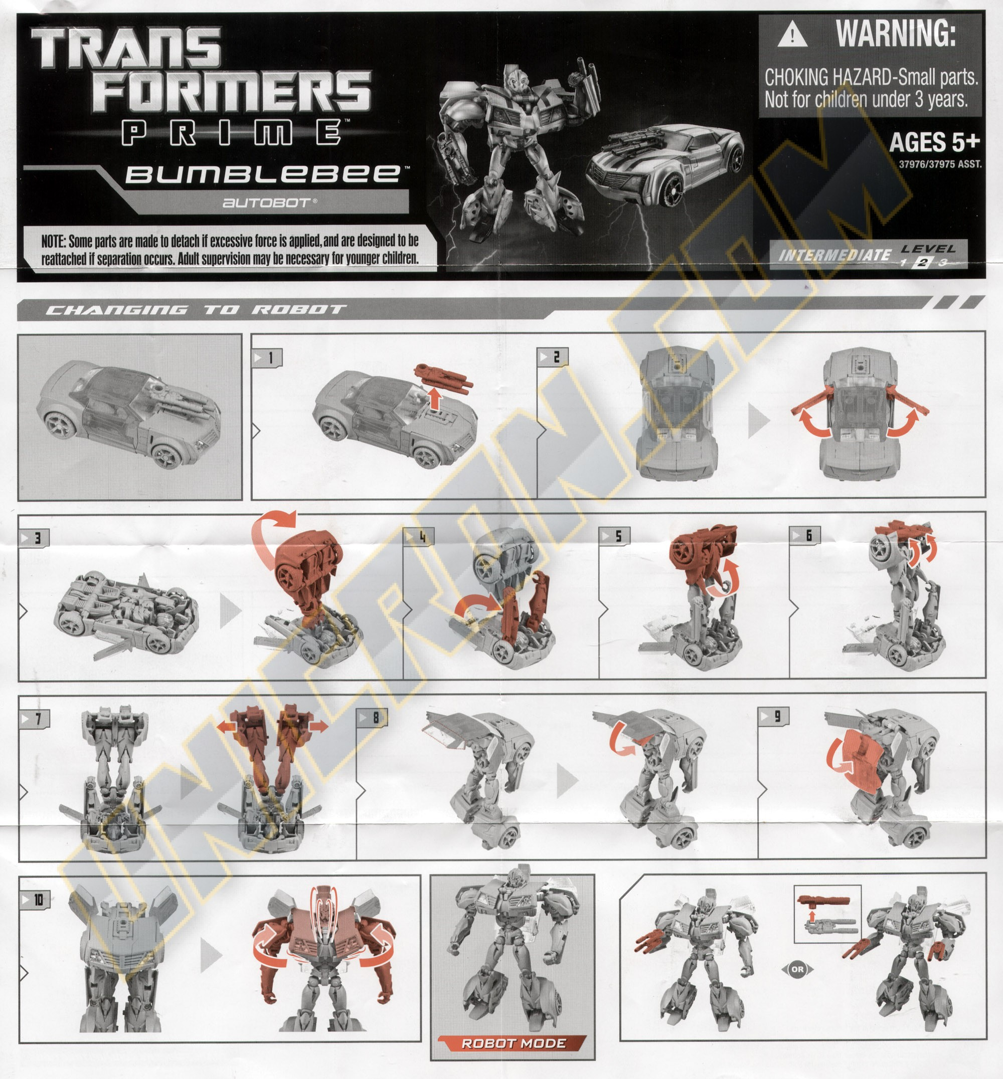 Transformers (movie) bumblebee (ultimate) transformers.