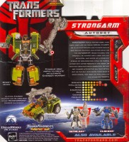 Transformers (Movie) Strongarm (Target Exclusive) - Transformers Tech ...