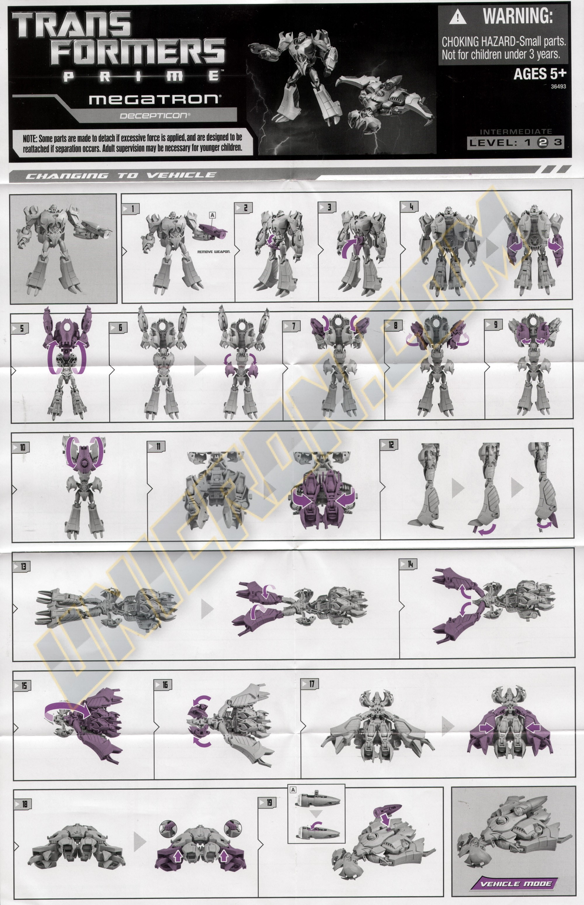 Transformers Prime Entertainment Pack (First Edition