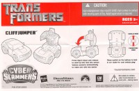 Movie - Cyber Slammers Cliffjumper - Instructions