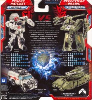 Transformers Movie Legends Rescue Ratchet Vs Decepticon