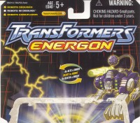 Energon - Battle Ravage - Package art