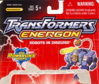 Energon - Command Ravage - Package art