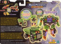 Energon - Demolishor - Package art