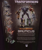 Generations - Bruticus (SDCC Exclusive, Fall of Cybertron) - Package art