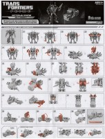 TF Prime - Optimus Prime (Weaponizer) - Instructions