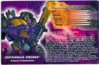 Timelines - Shattered Glass Optimus Prime (deluxe) - Package art