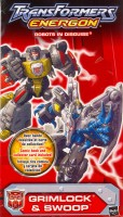 Energon - Grimlock & Swoop - Package art