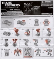TF Prime - Hot Shot - Instructions