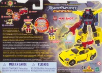 Energon - Hot Shot - Package art