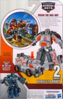 Rescue Bots - Medix The Doc Bot - Package art