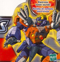 Energon - Landmine - Package art