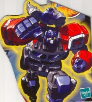 Energon - Optimus Prime - Package art