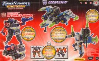 Energon - Powerlinx Optimus Prime & Megatron (TRU exclusive) - Package art