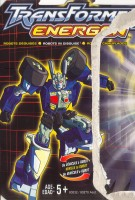 Energon - Prowl - Package art