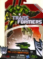 Generations - Decepticon Brawl (Fall of Cybertron) - Package art