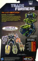 Generations - Onslaught (Fall of Cybertron) - Package art