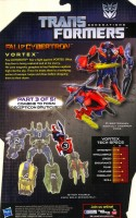 Generations - Vortex (Fall of Cybertron) - Package art
