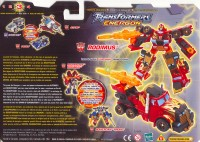 Energon - Rodimus - Package art