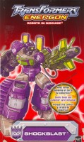 Energon - Shockblast - Package art