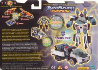 Energon - Snow Cat - Package art